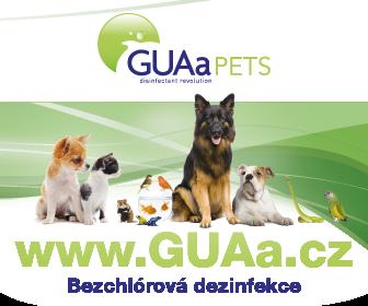 Bezchlórová dezinfekce GUAa Pets