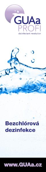 Bezchlórová dezinfekce GUAa Profi