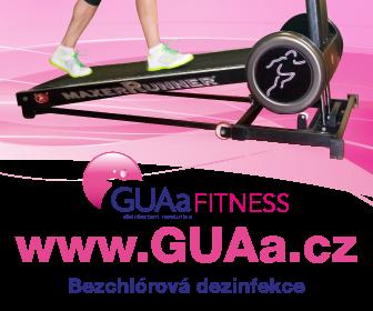 Bezchlórová dezinfekce GUAa Fitness